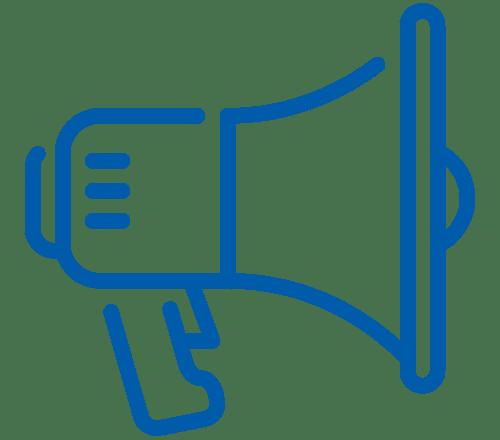 joppart voice over icoon advertentie